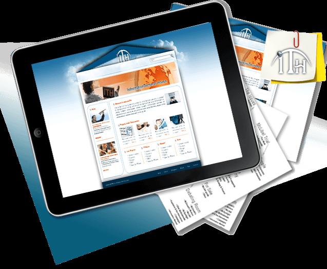 طراحی سایت خانه فناوري اطلاعات