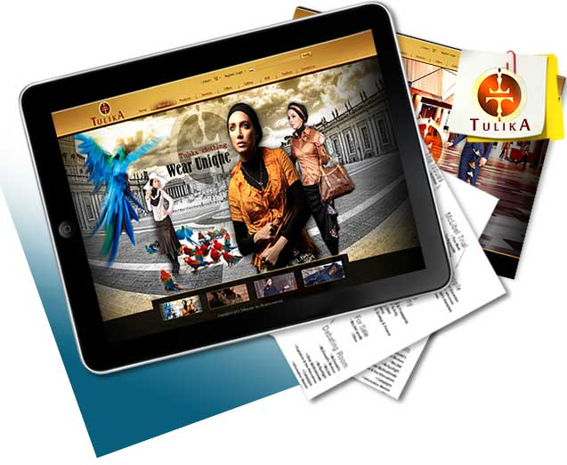 طراحی سایت پوشاک تولیکا