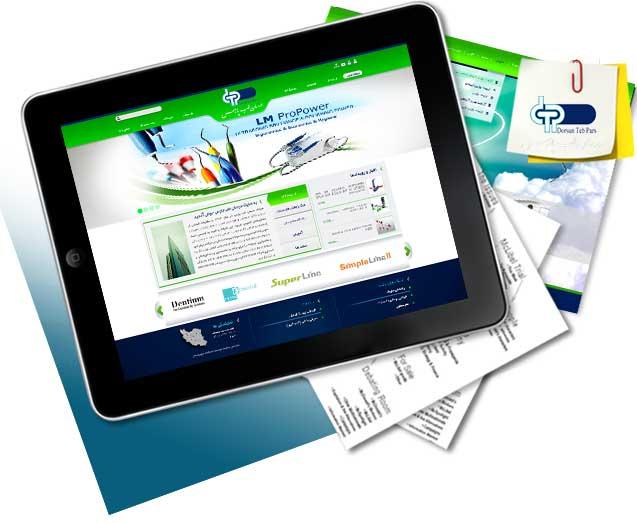 طراحی سایت درسان طب پارس