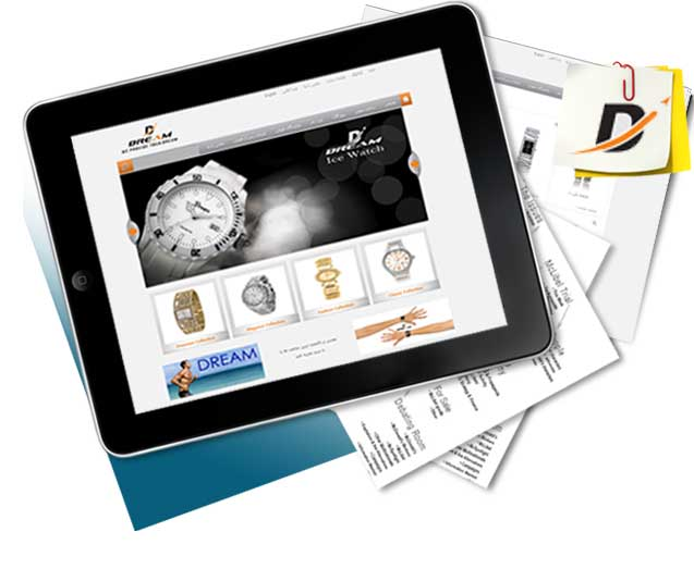 طراحی سایت دریم واچز