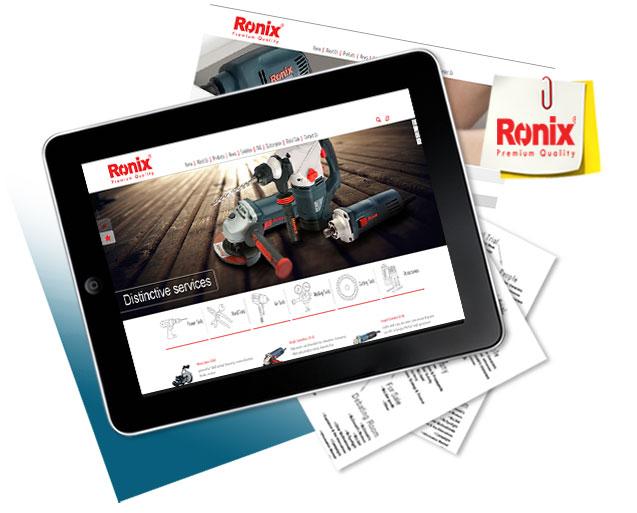 طراحی سایت رونیکس