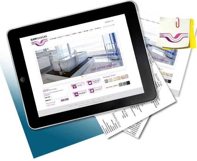 طراحی سایت سام سنگان