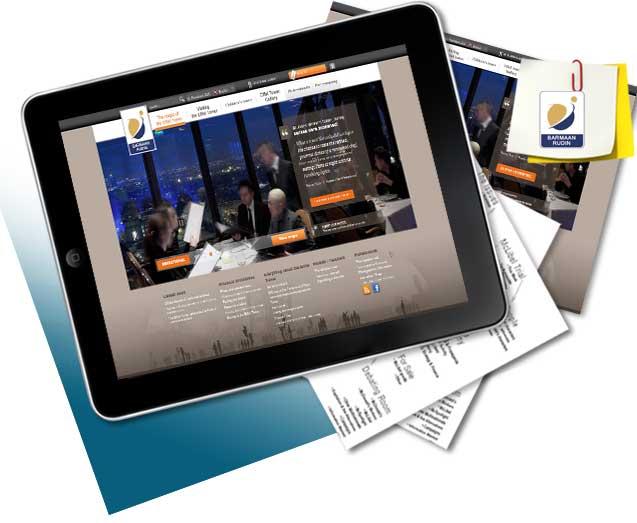 طراحی سایت شرکت بارمارودین